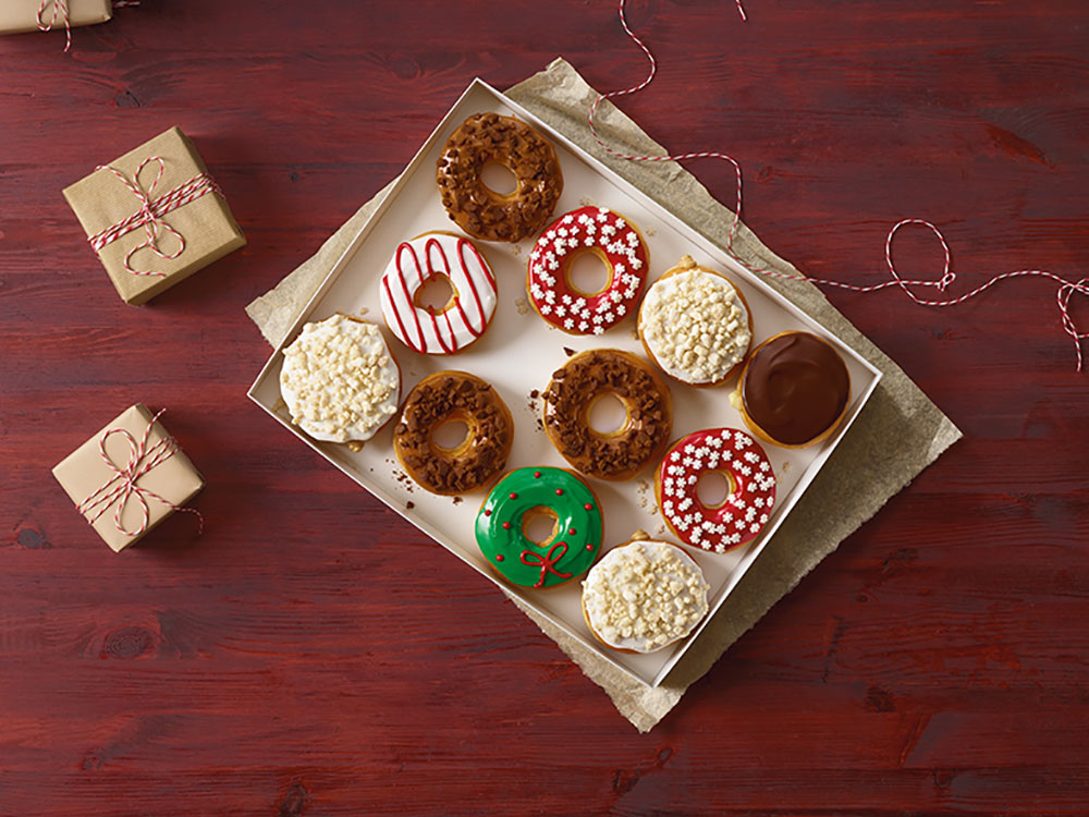 donuts for the holidays