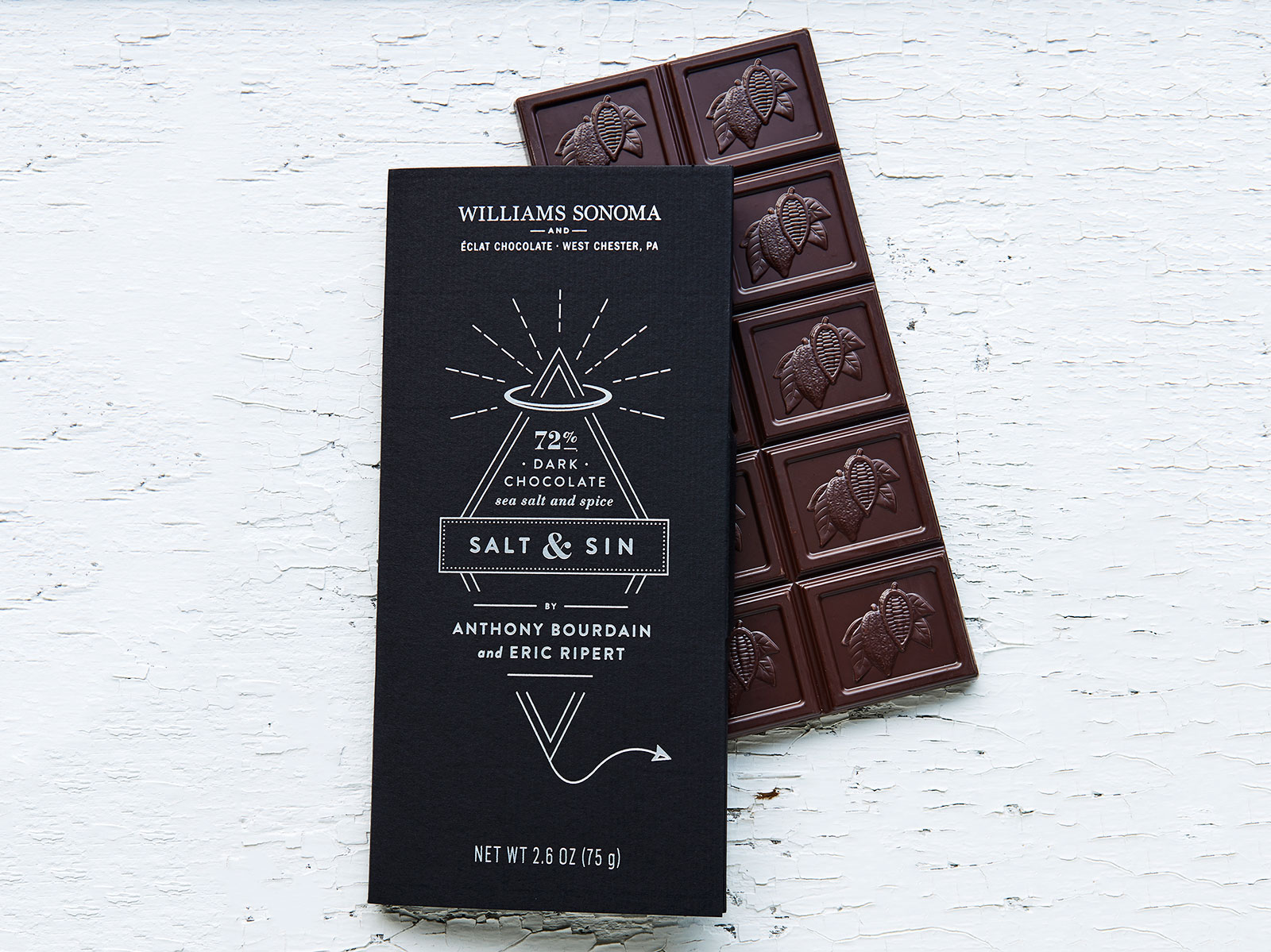 eclat anthony bourdian chocolate bar