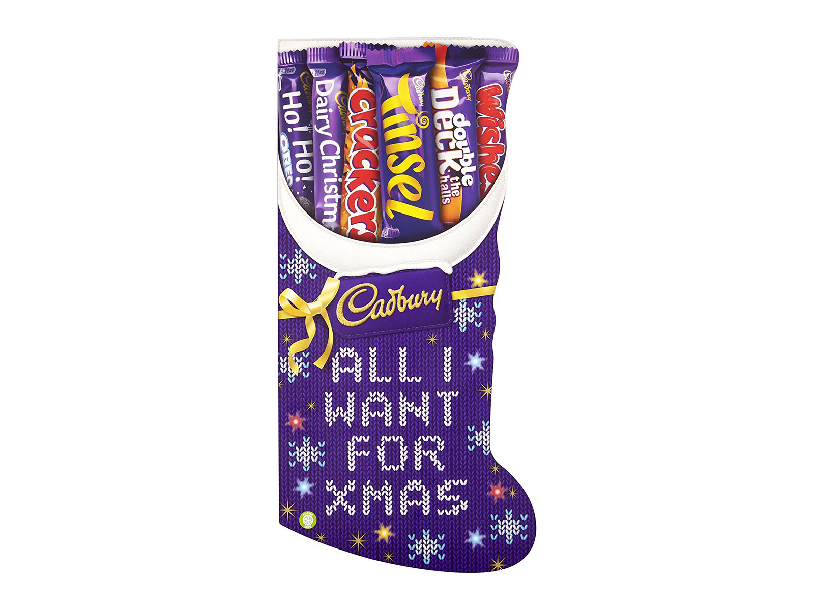 chocolate candy bars stocking