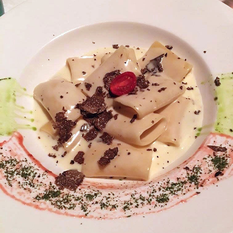 Pasta with Black Truffle