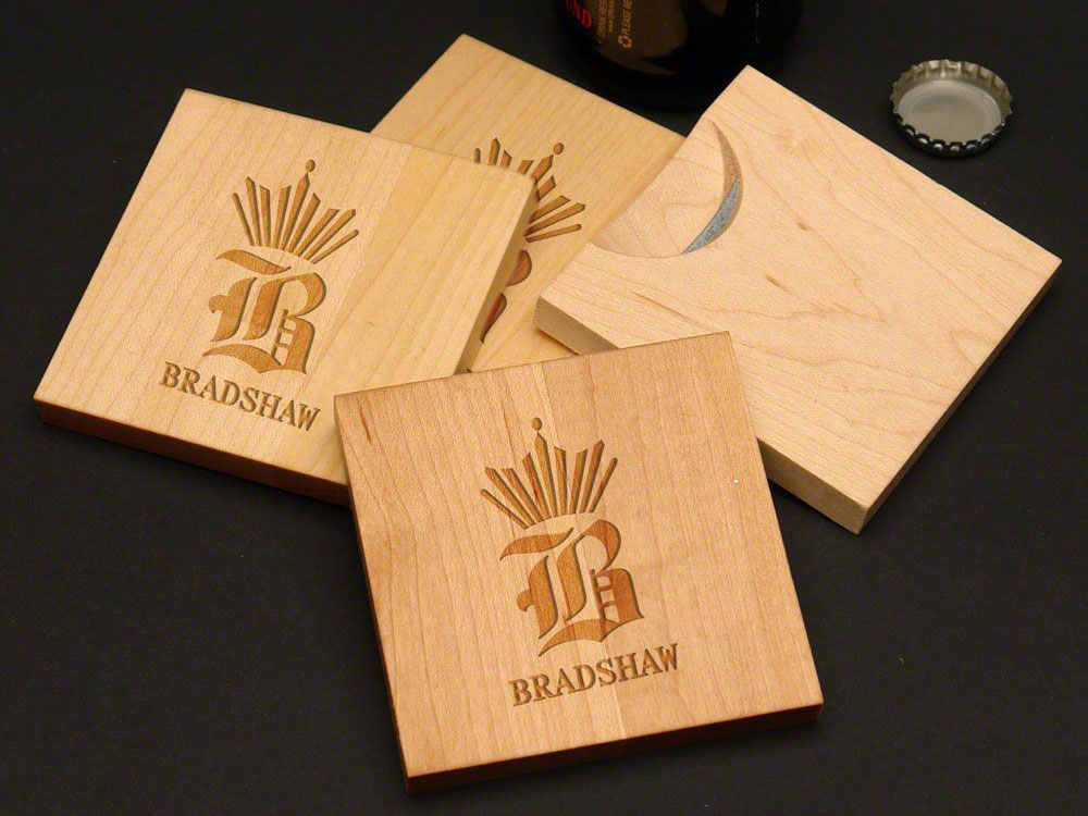 bottle opener coasters