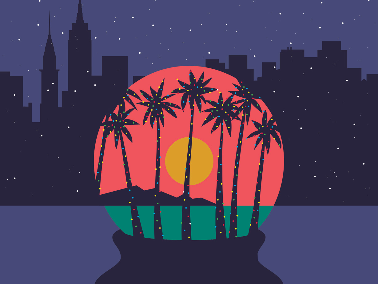 How to Have a Hawaiian-Inspired Christmas in New York