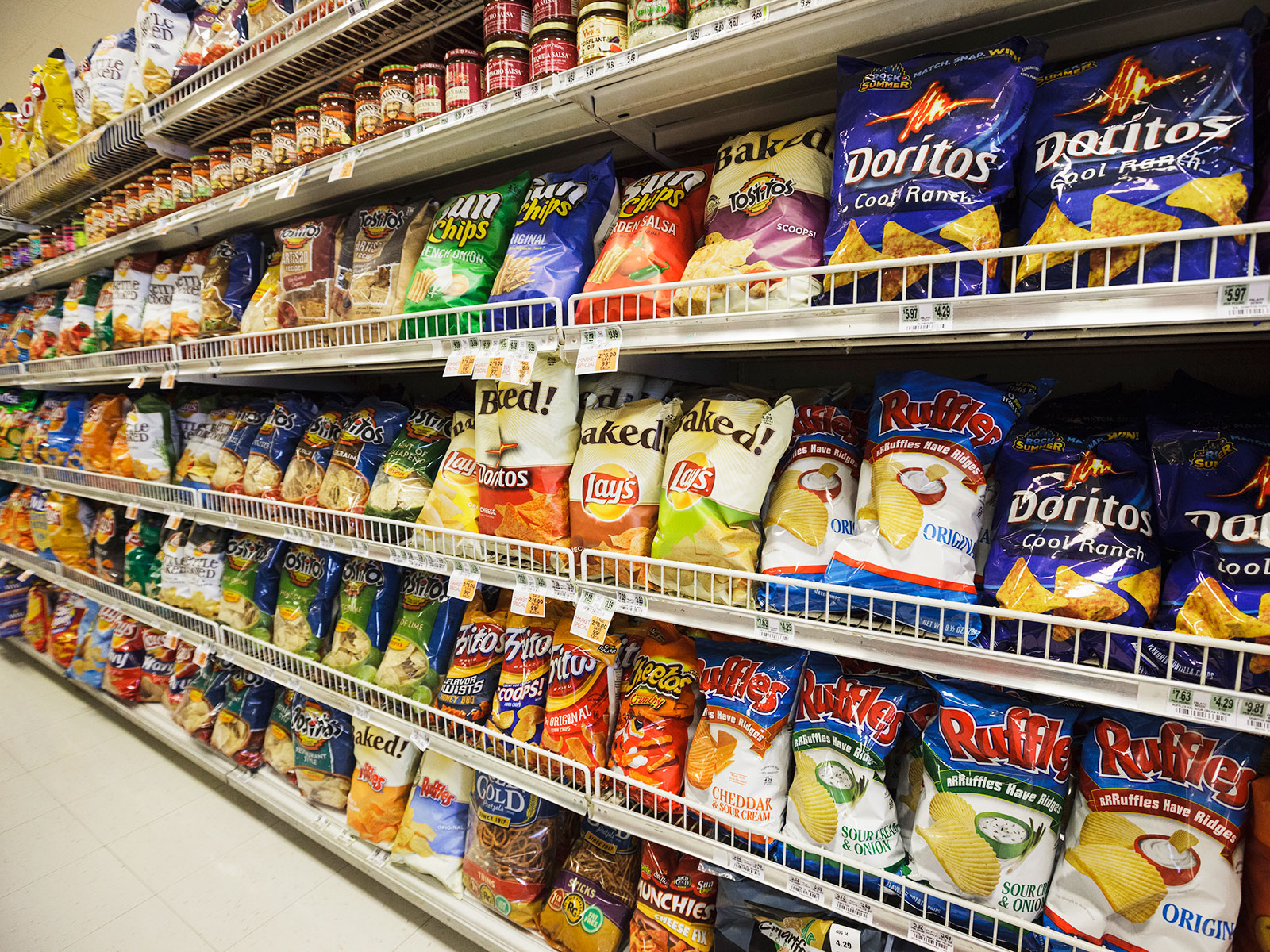 Frito Lay Is Working To Make Its Snacks Healthier Food