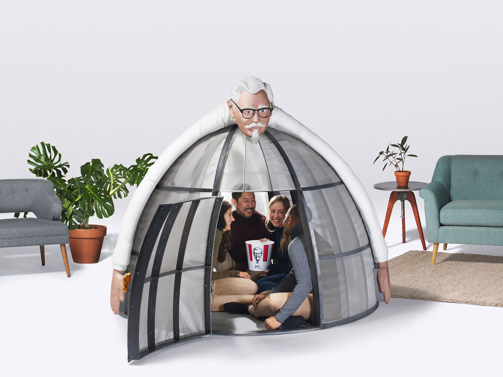 KFC Is Selling a $10,000 'Internet Escape Pod' to Save You from the Holiday Shopping Season