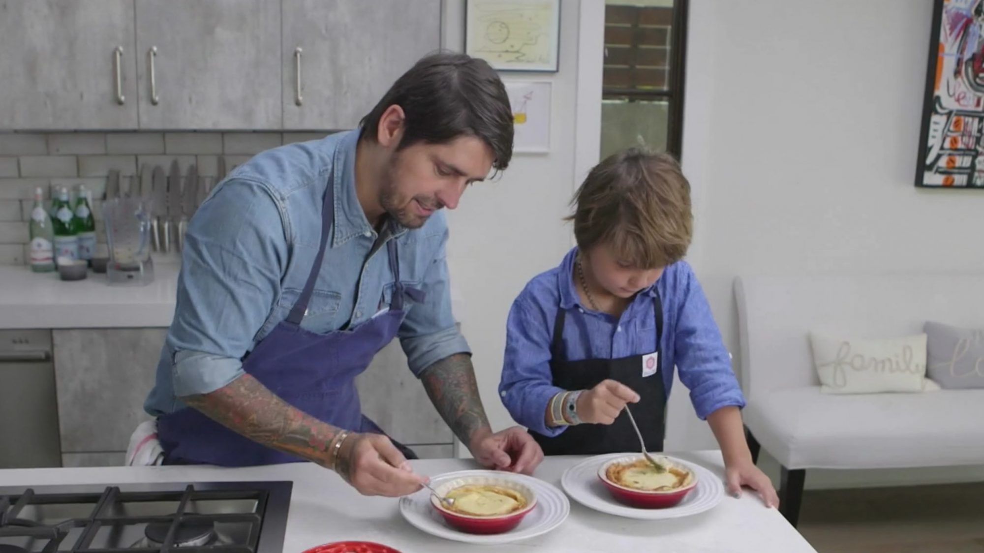 Ludo Lefebvre and Son Show You Their Take on a Classic French Dessert