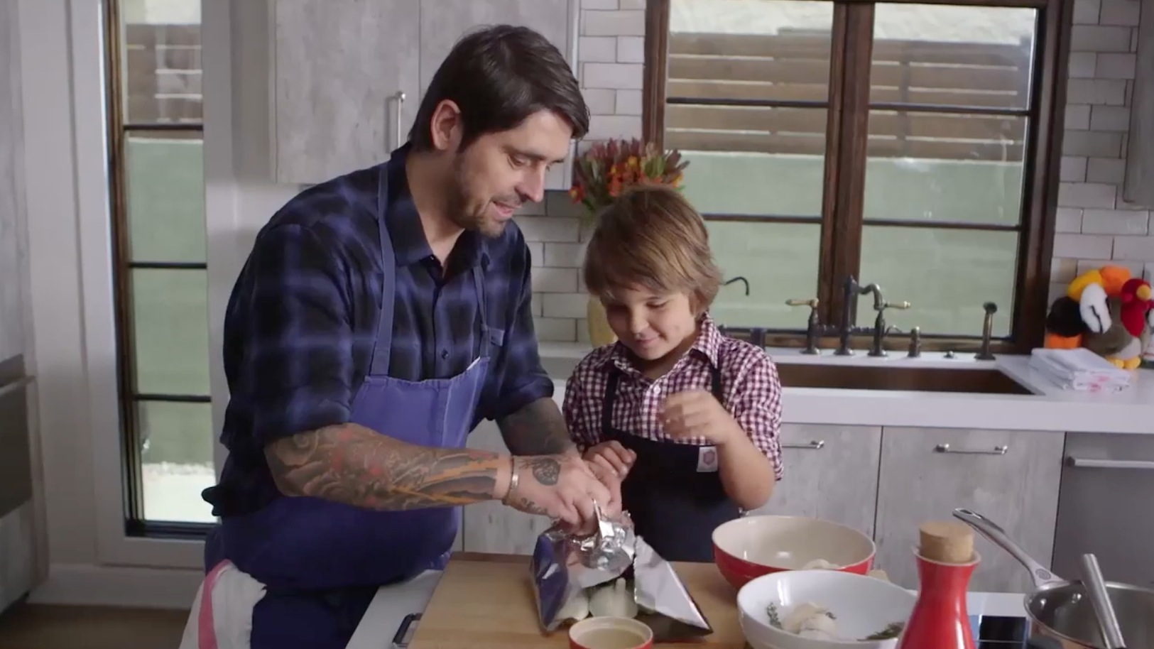 Ludo Lefebvre and His Son Demonstrate How to Make the Perfect Thanksgiving Turkey Breast