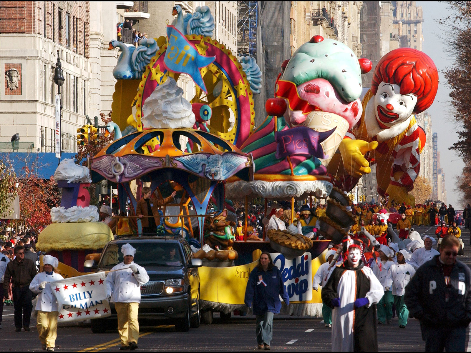 Macy's Thanksgiving Day Parade Food Balloons, Ranked