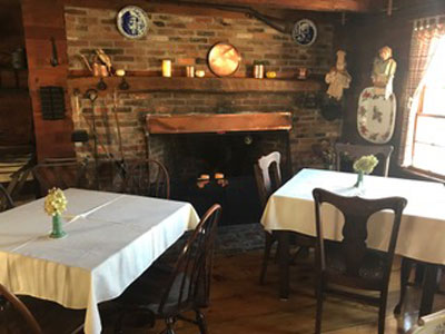 Maine Dining Room At Squire Tarbox Inn