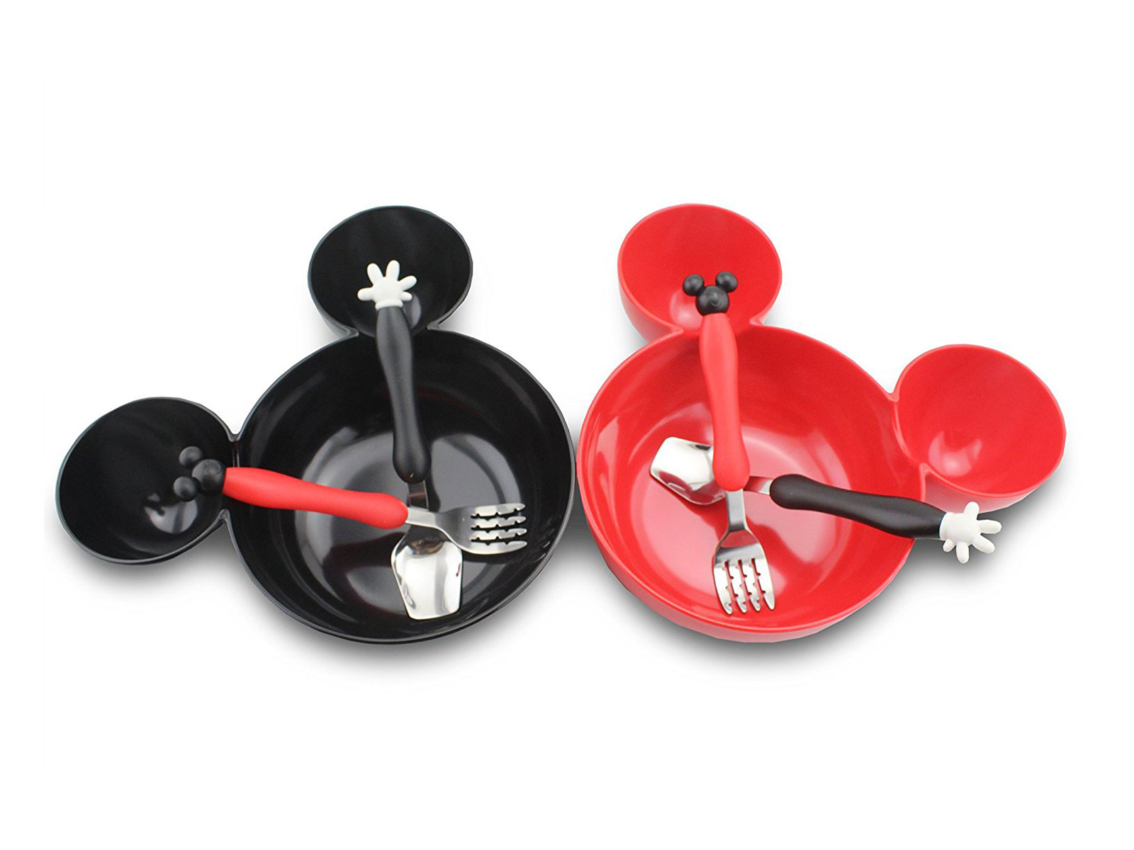 dish set mickey mouse themed