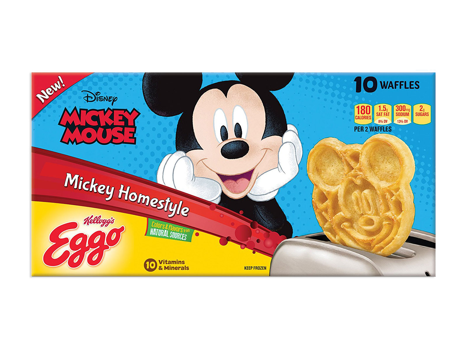 frozen eggos waffles mickey mouse