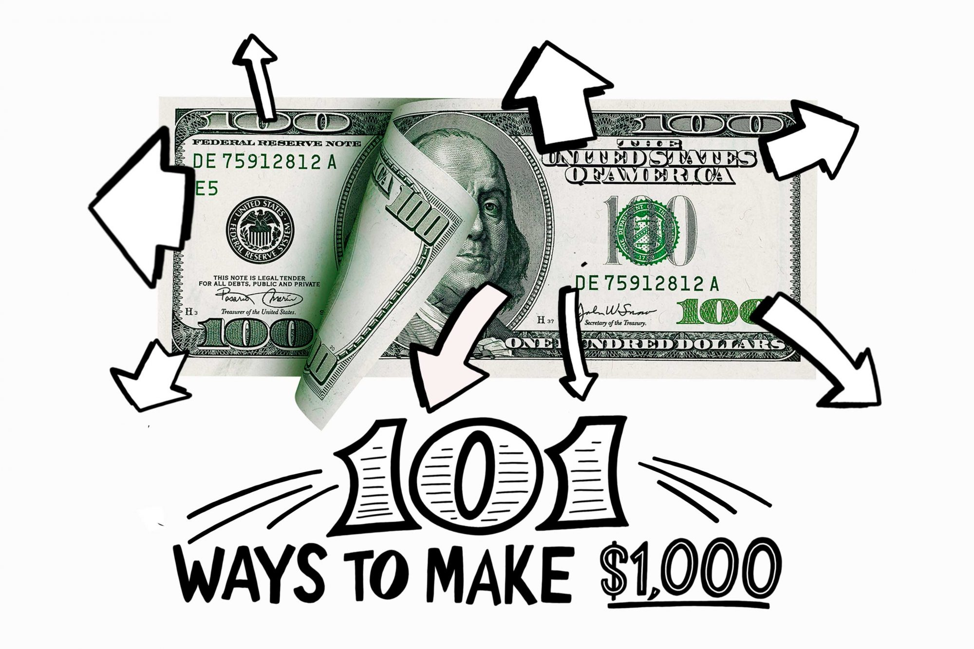 101 Ways to Make an Extra $1,000 in 2018