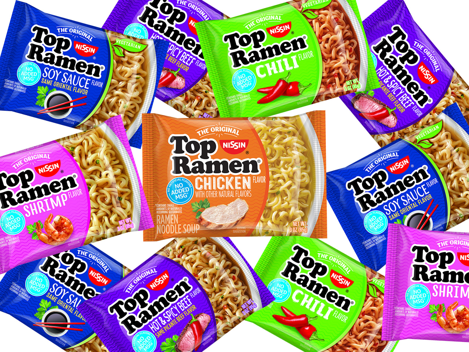Top Ramen Is Changing Its Recipe to Be Healthier
