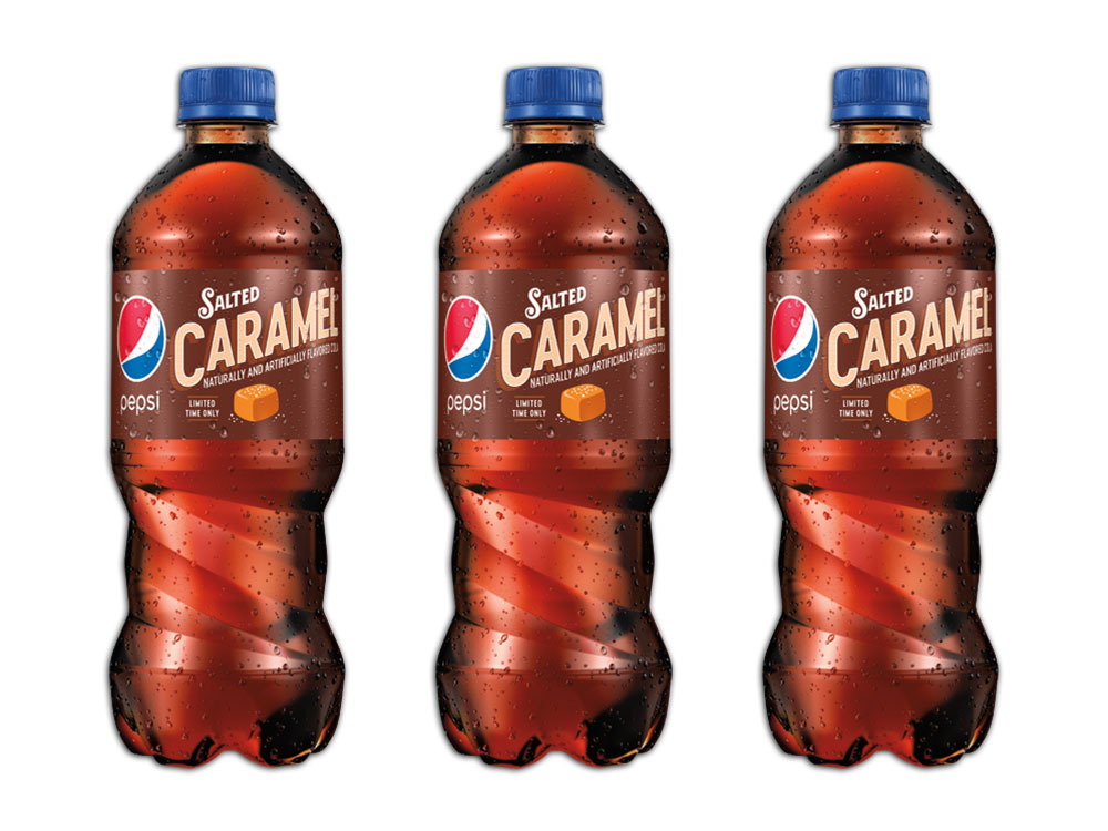 salted caramel pepsi for the holiday season