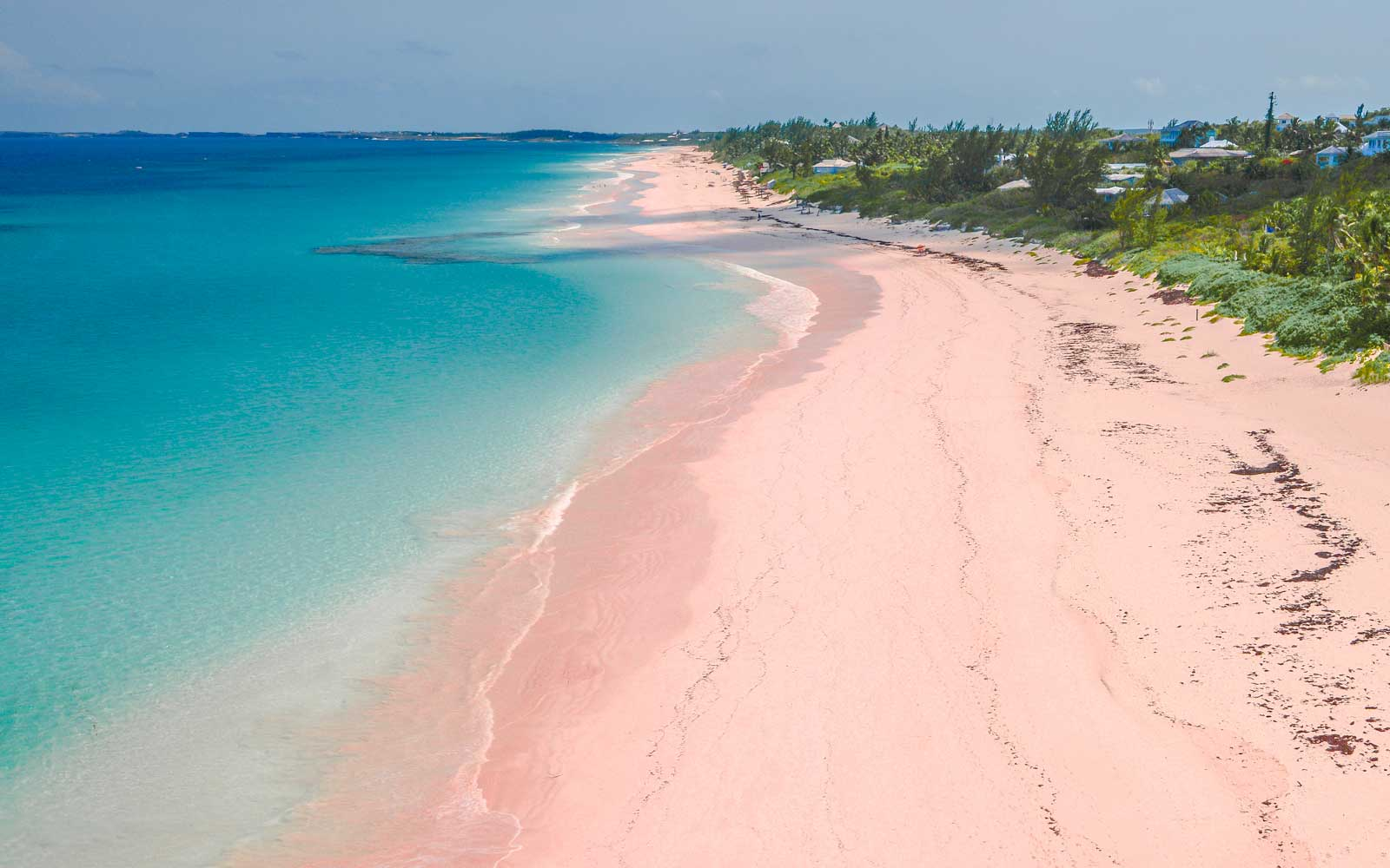 The World's Most Beautiful Pink Sand Beaches