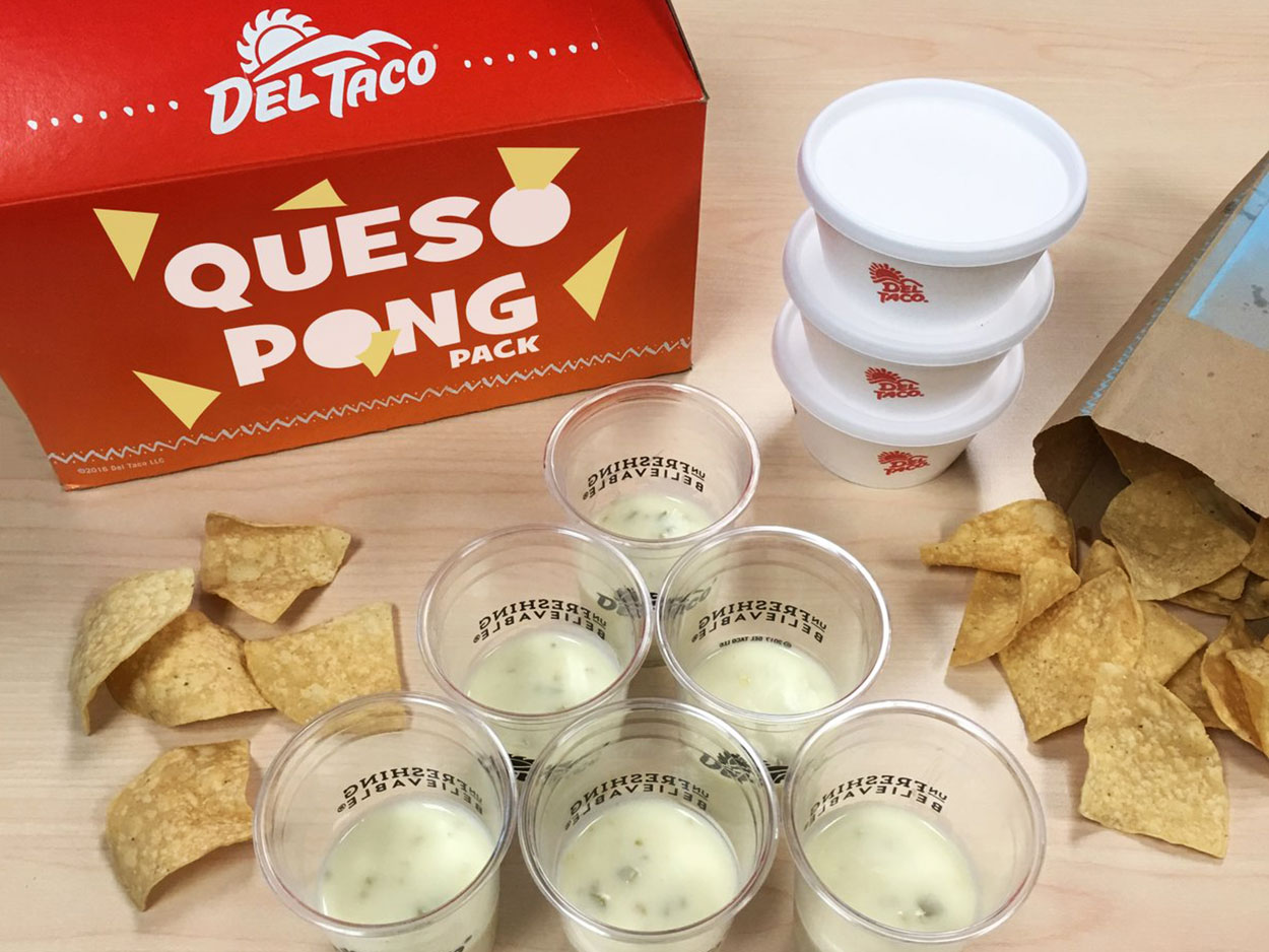 queso pong