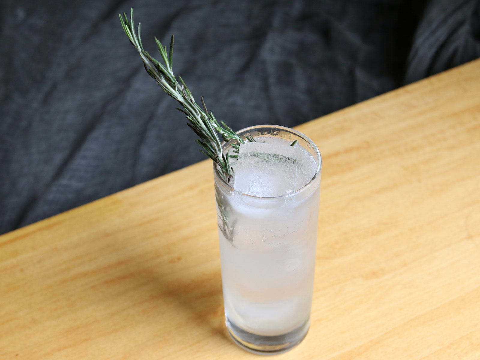 Rosemary-Tequila Rickey