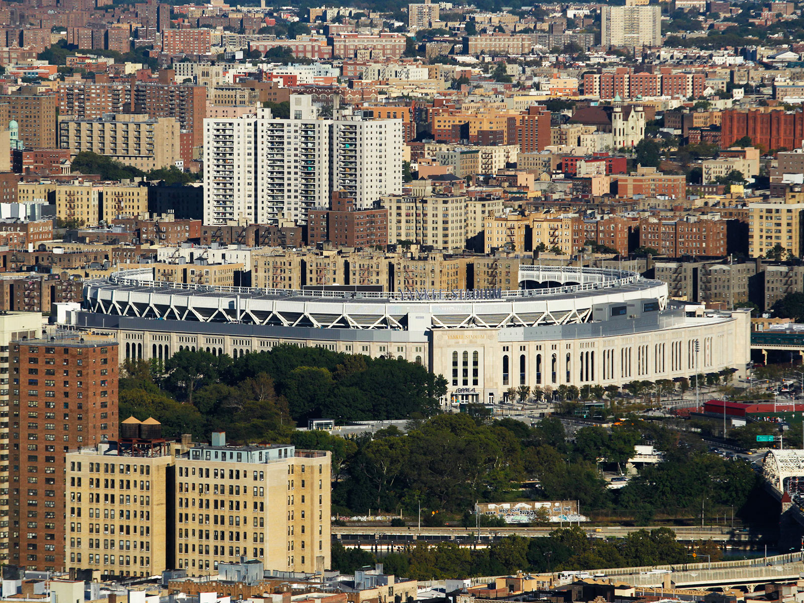 full city view of the bronx
