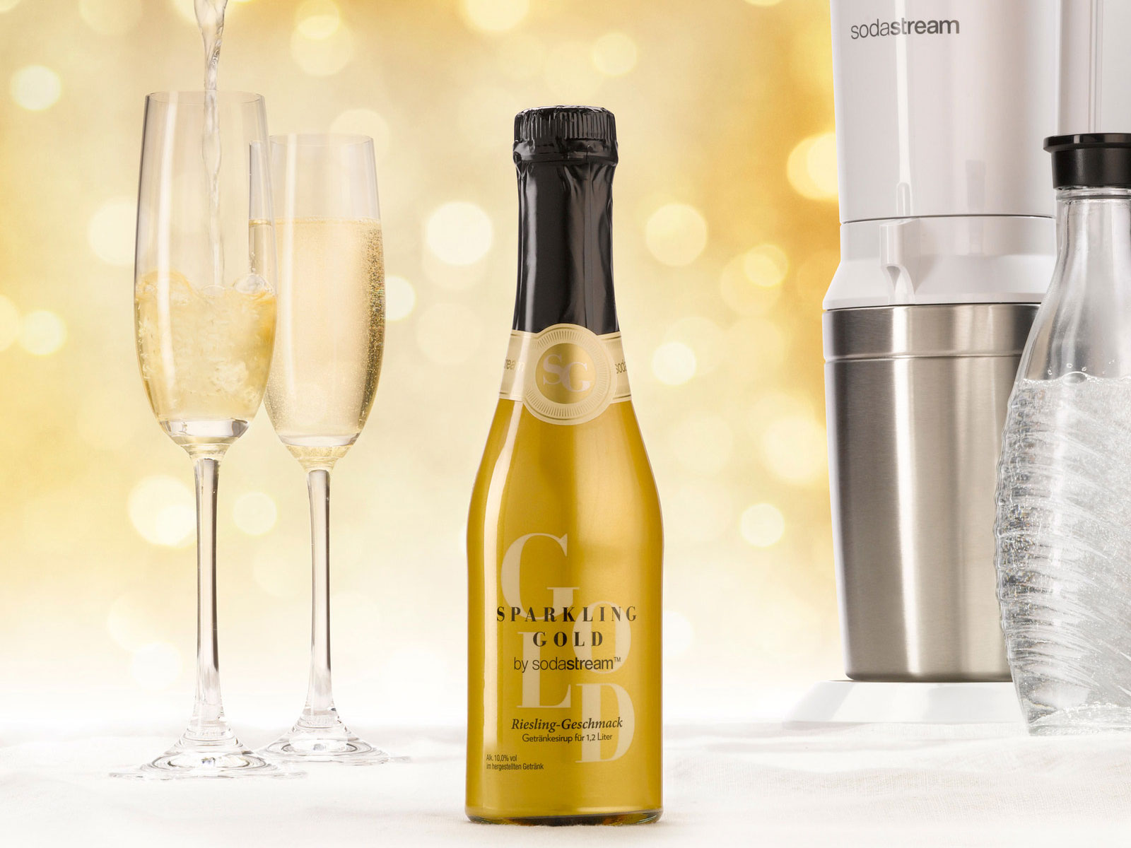 Remember SodaStream? It's Now Turning Water Into Sparkling Wine