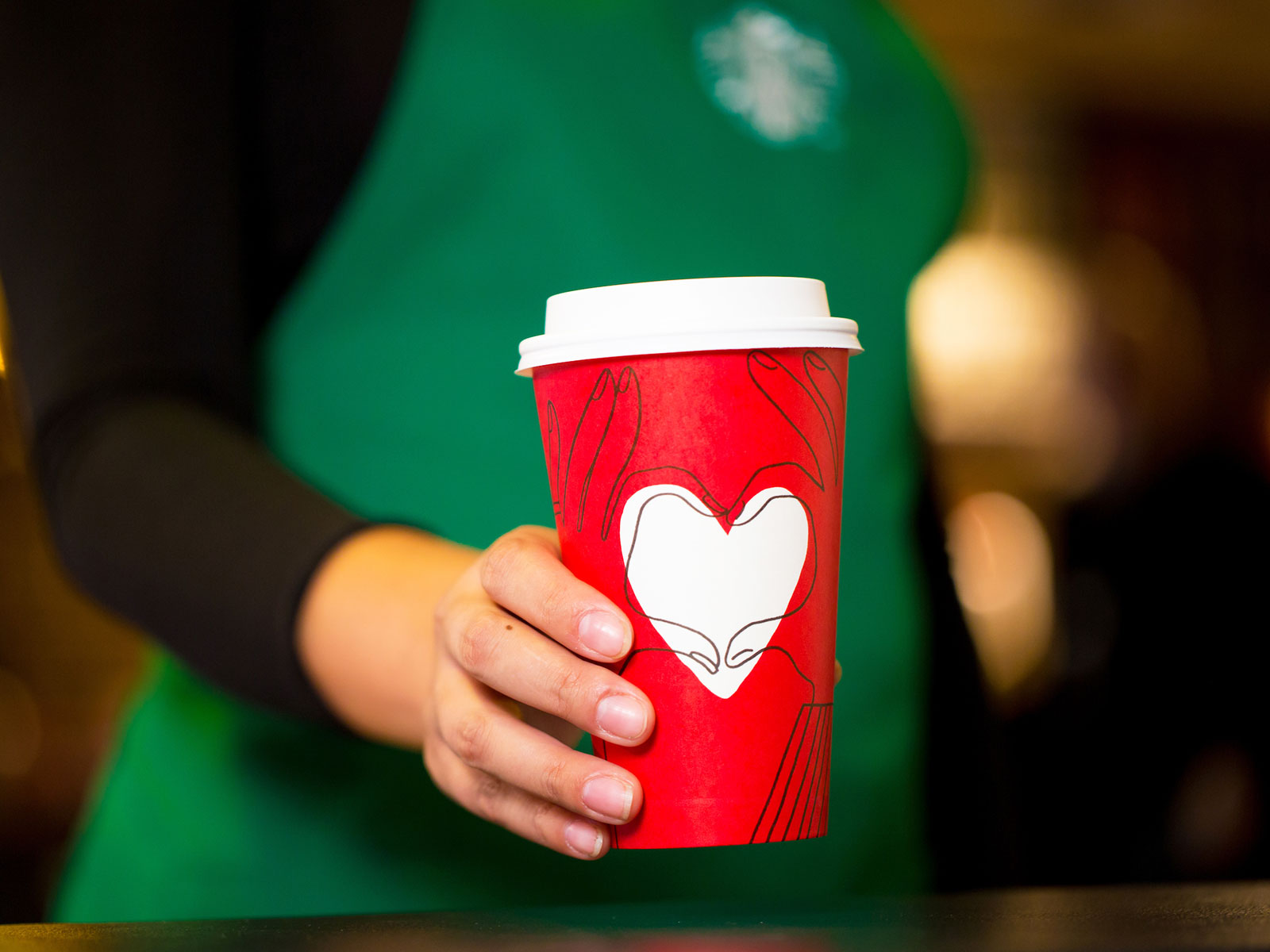 Starbucks' Red Cups Are Returning After All
