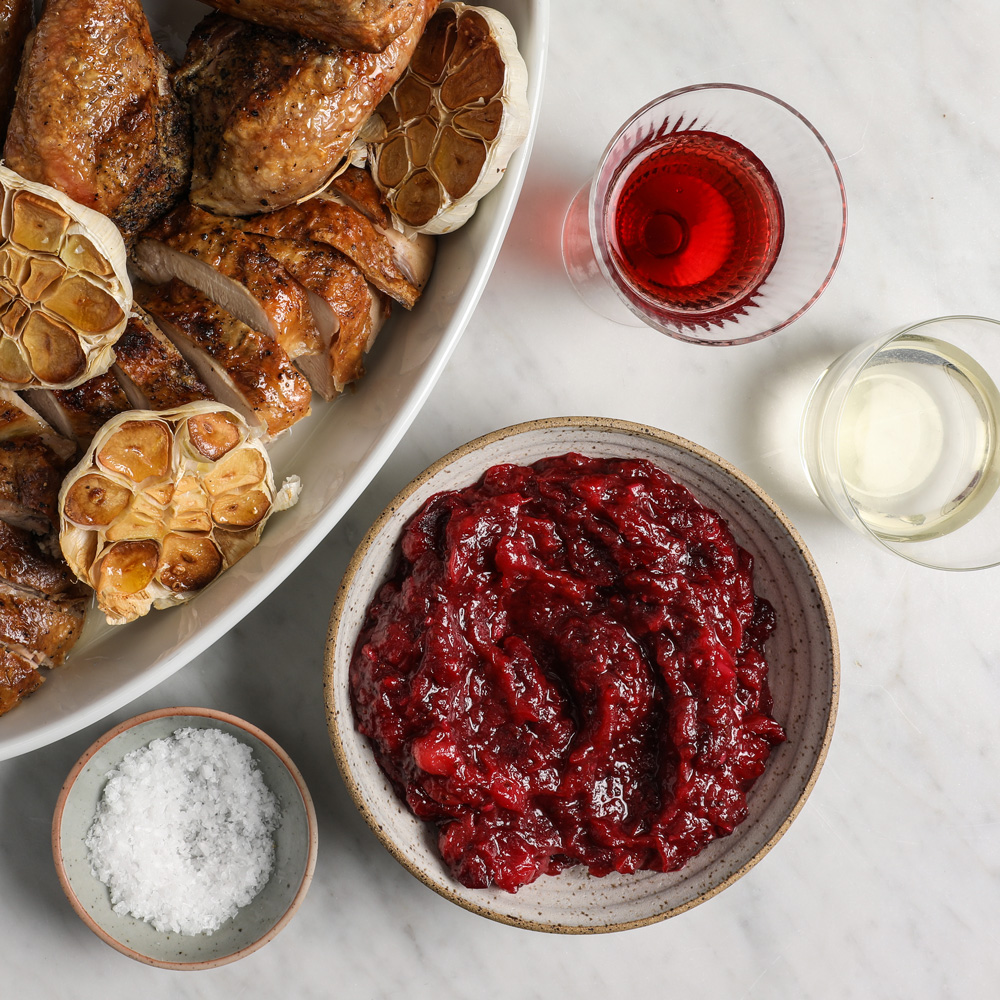 Sweet and Savory Cranberry Conserva