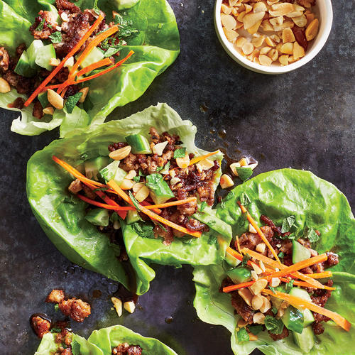 Thai Turkey Lettuce Cups