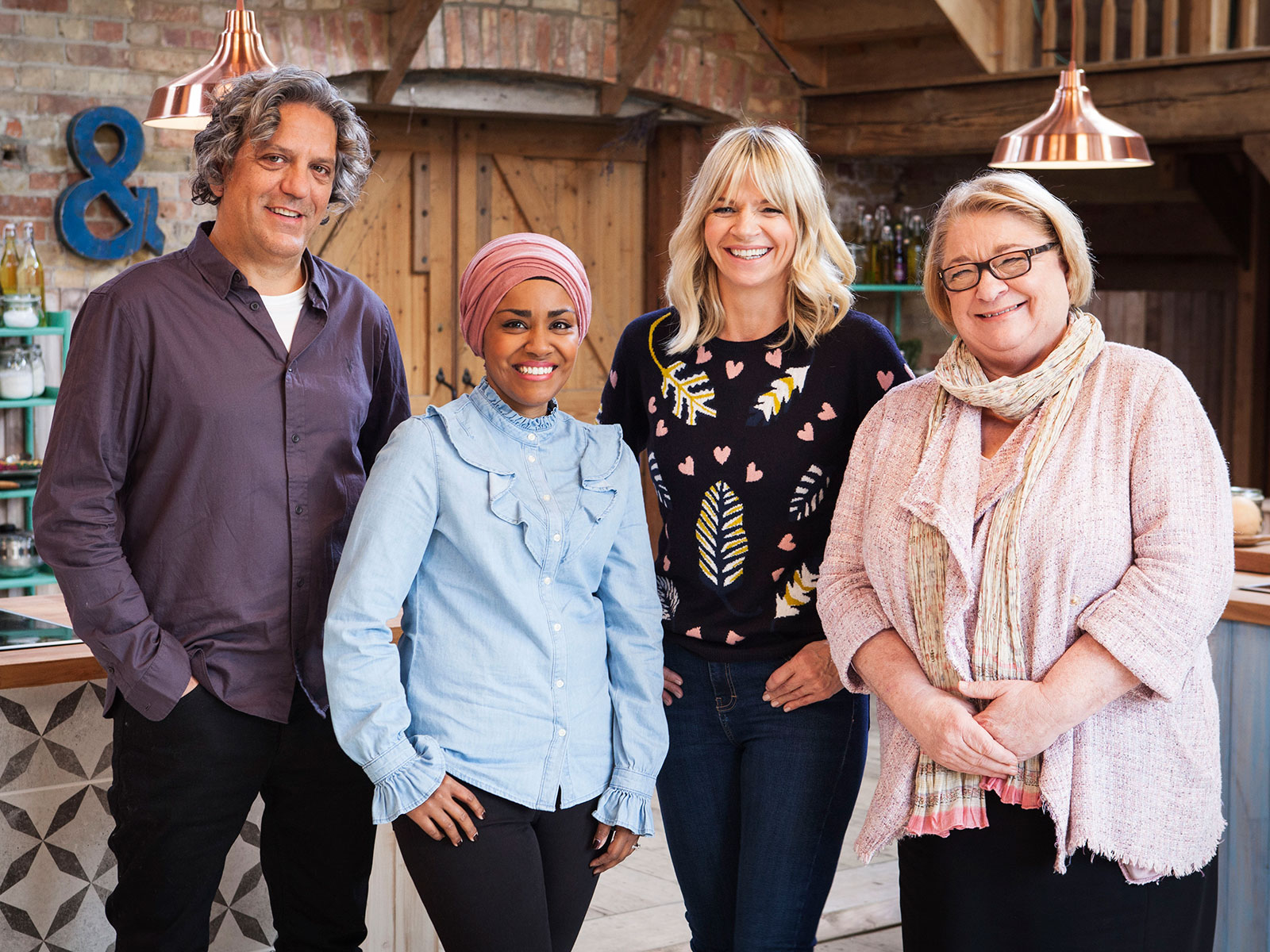 cast of netflix show big family cooking showdown