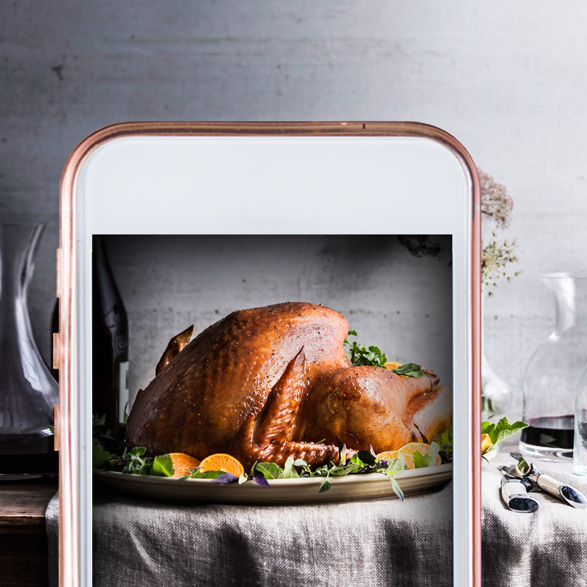 How to Make the Most Insta-Worthy Turkey,According to Celebrity Chef Marcus Samuelsson
