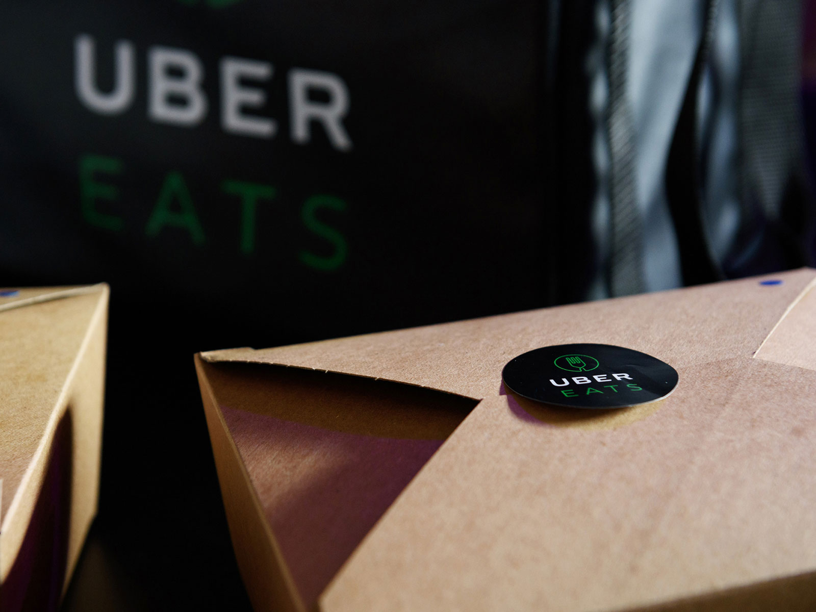 fast food delivery uber eats