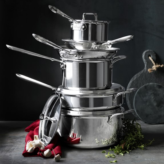 Williams Sonoma Has a Huge Sale on All-Clad Cookware This Weekend