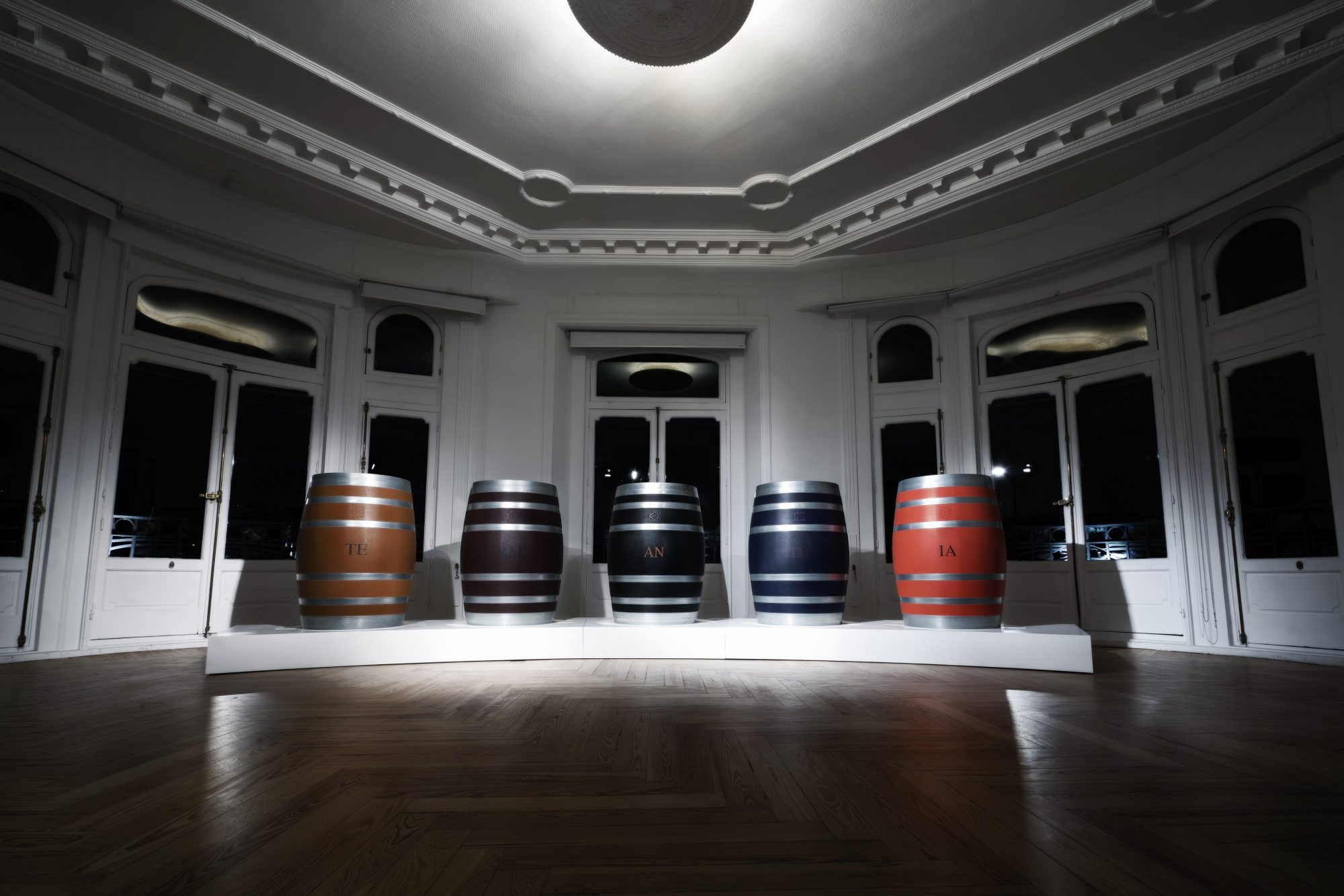 This Leather-Clad Wine Barrel Will Be an Instant Collector's Item