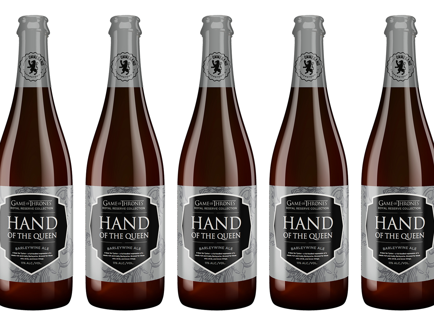 A Collection of Four New 'Game of Thrones' Beers Set for 2018 Release