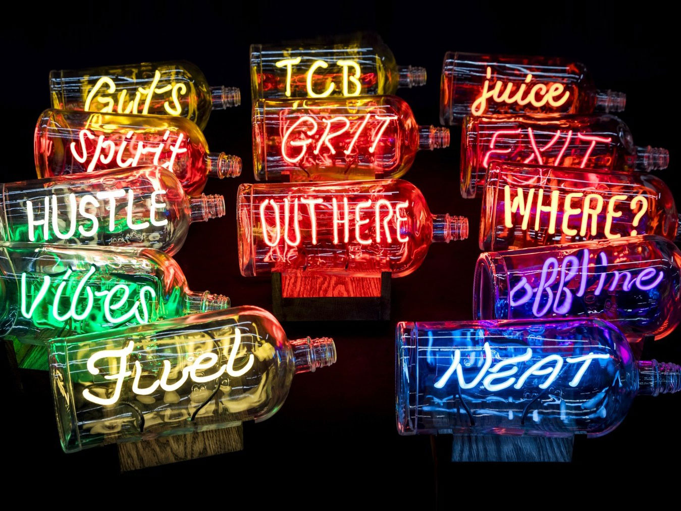 Bulleit Neon Project