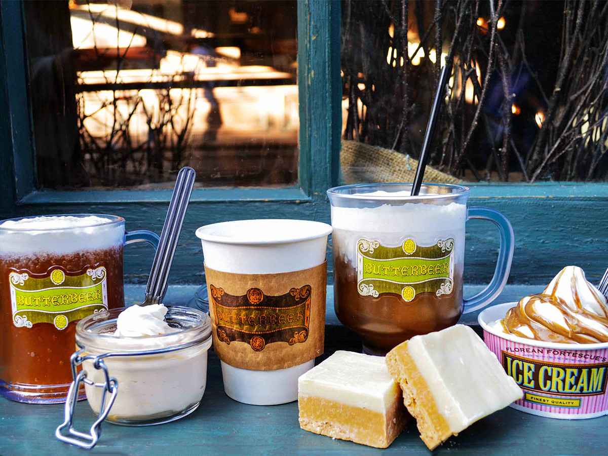 I Tasted Every Butterbeer-Flavored Thing Inside The Wizarding World of Harry Potter