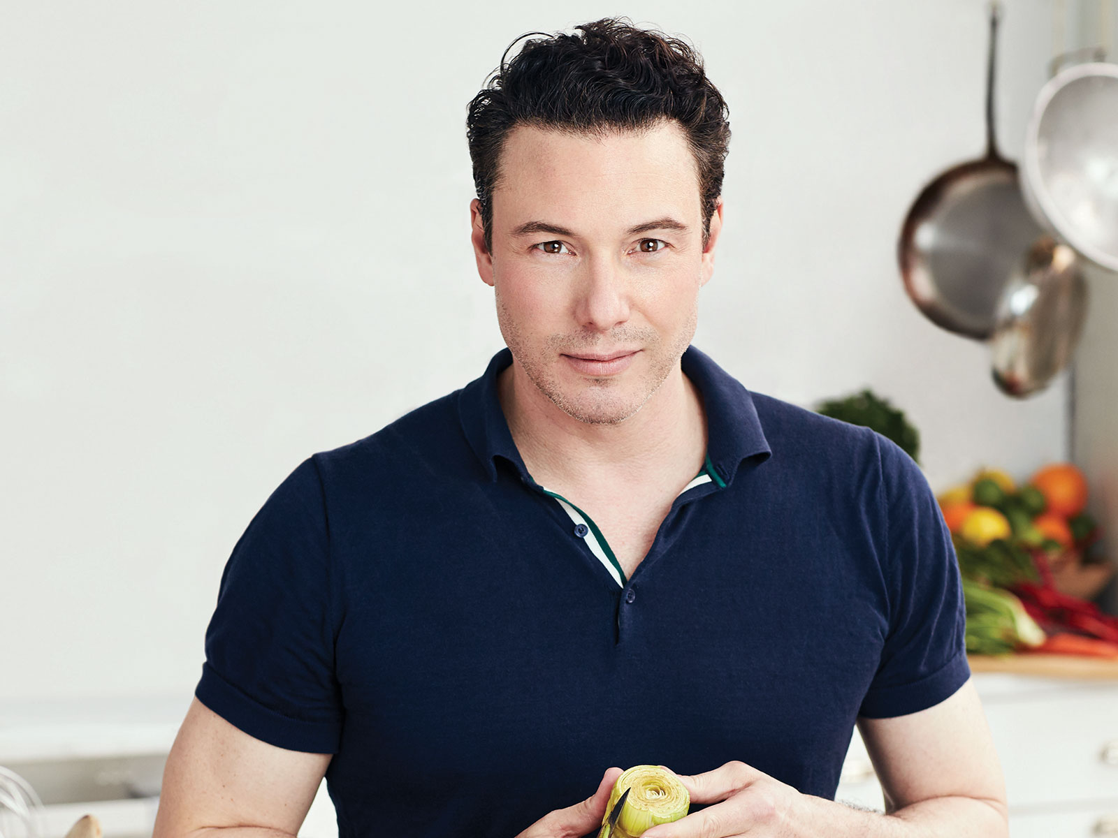 chef rocco dispirito head shot