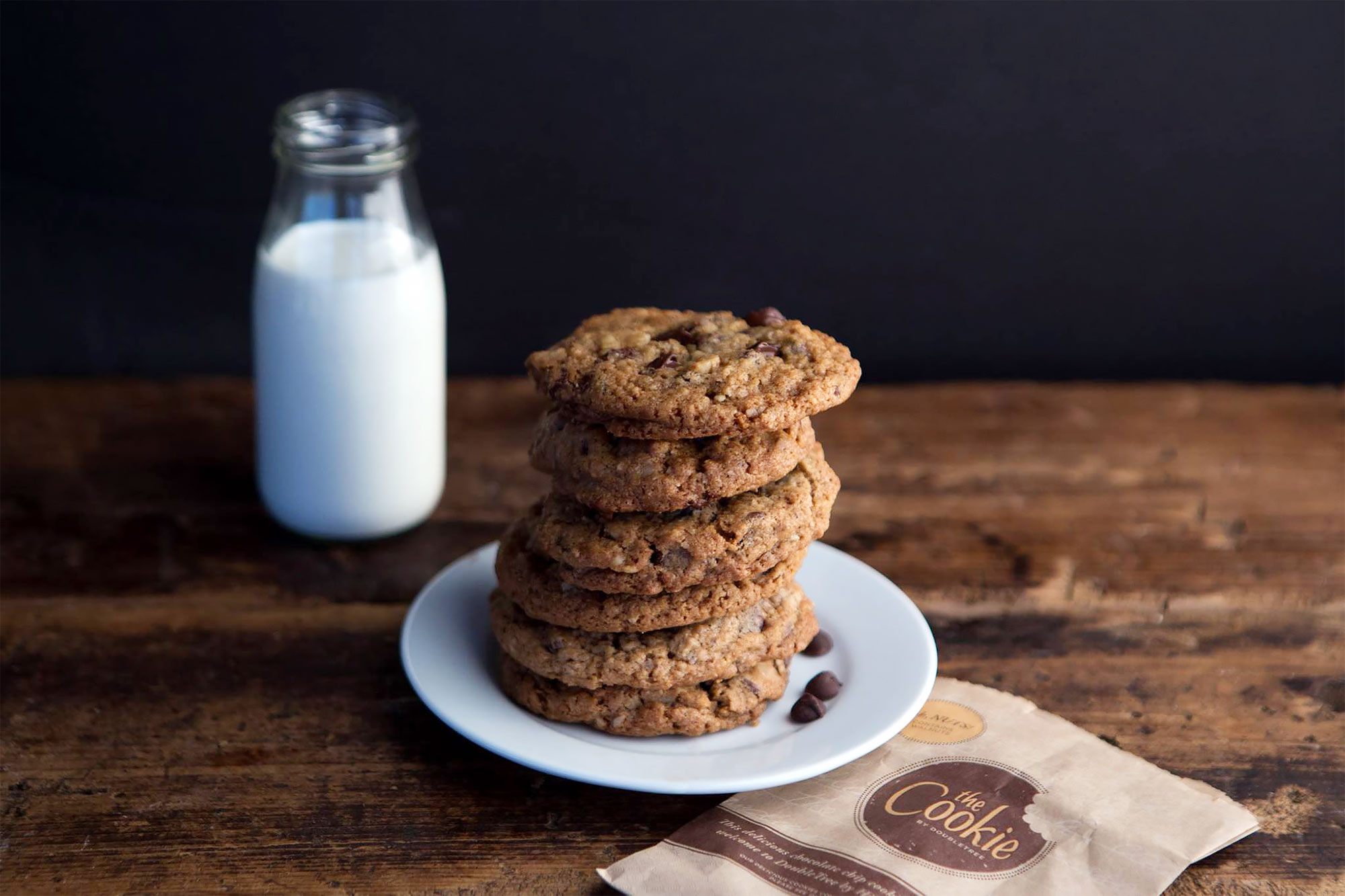 DoubleTree Hotels Are Giving Out Free Warm Cookies All Month to Anyone Who Stops In