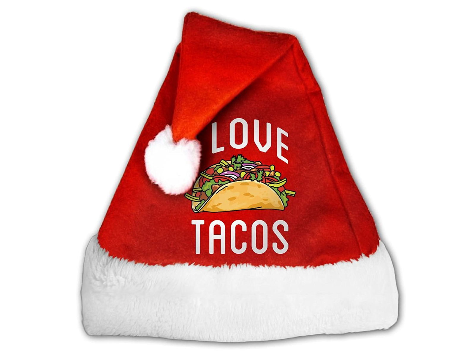 we love tacos hat for christmas