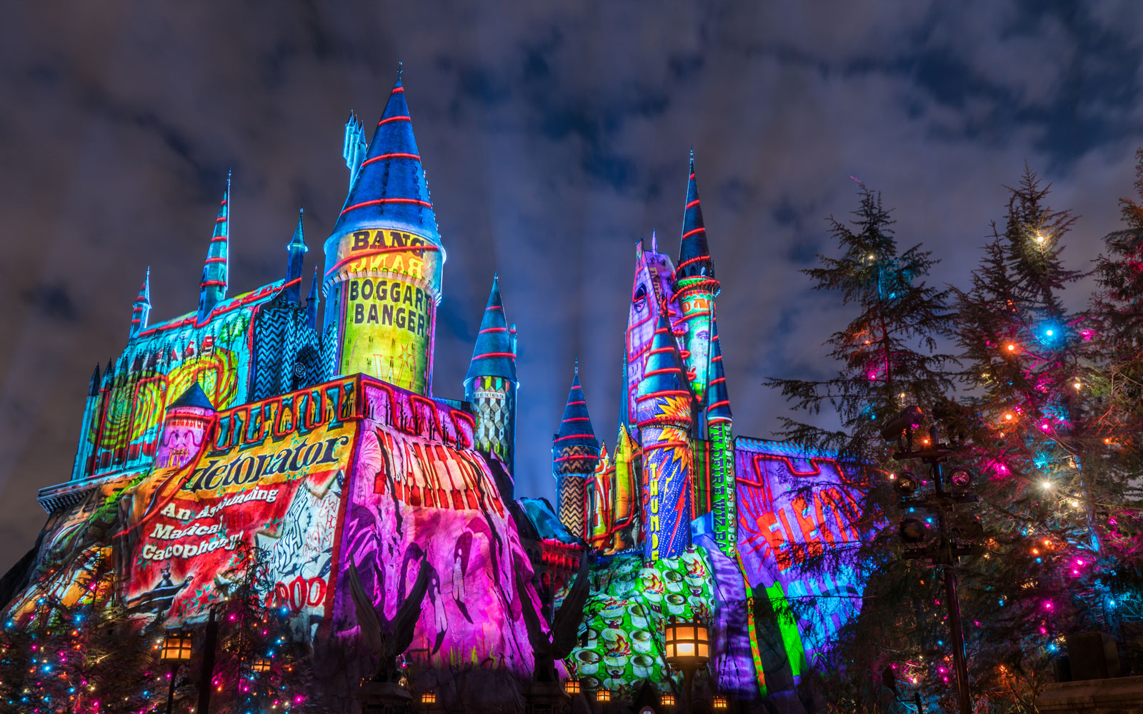 Harry Potter World Is Extra-Magical at Christmastime