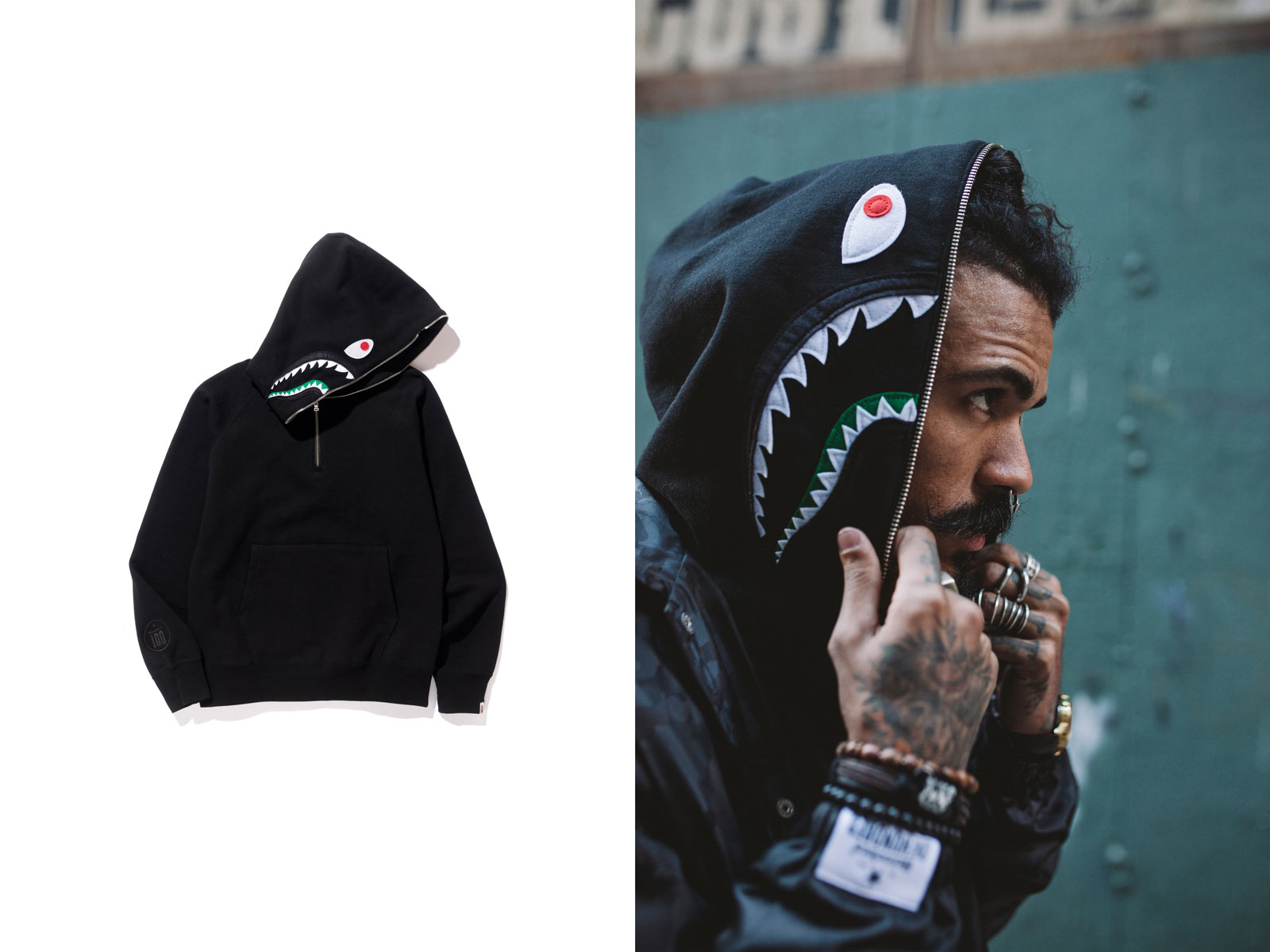ec1f0dd20d83 Heineken and A Bathing Ape Collaborated on a Limited Edition Clothing Line