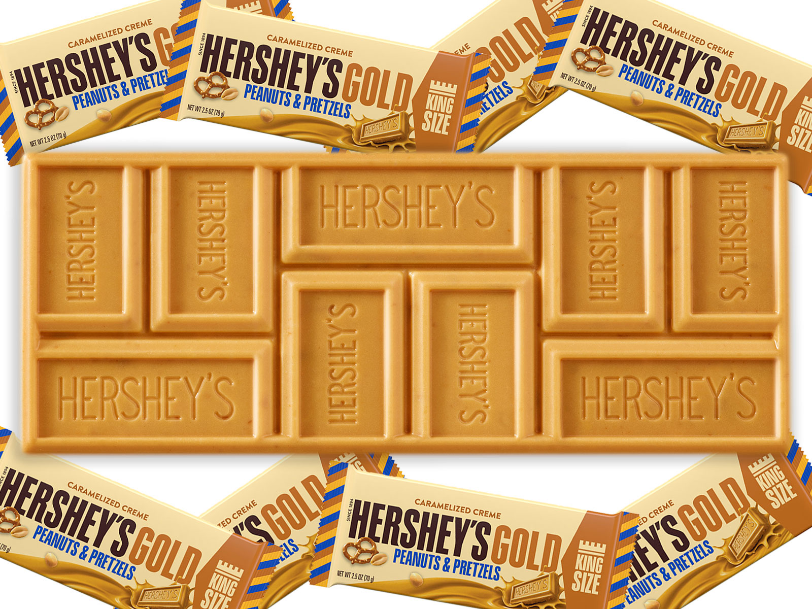 hershey gold bar