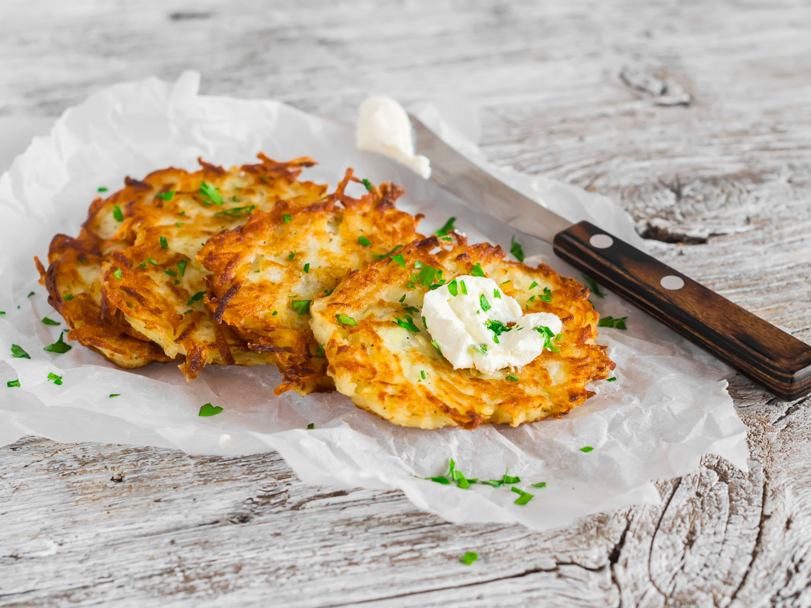 5 Tips for Making Perfect Latkes from Chef Yehuda Sichel
