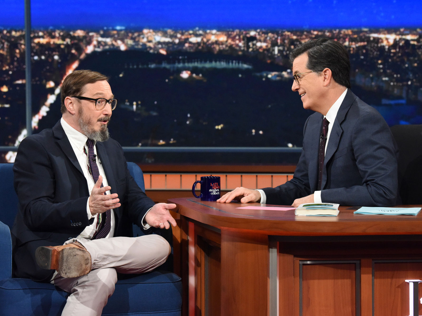 Is a Hot Dog a Sandwich? Stephen Colbert and John Hodgman Weigh In