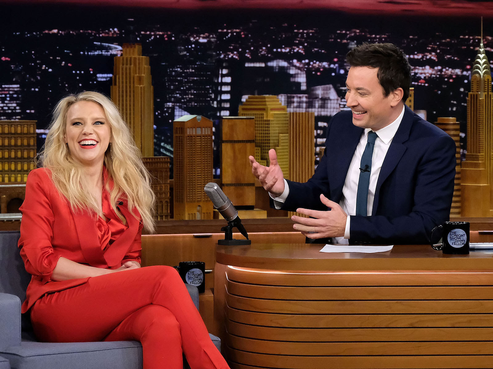 Kate McKinnon Does a Spot-On Screaming Goat Impression