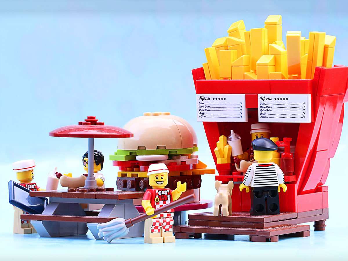 fast food fries stand