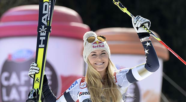 Watch Lindsey Vonn's epic downhill run to win a bronze medal