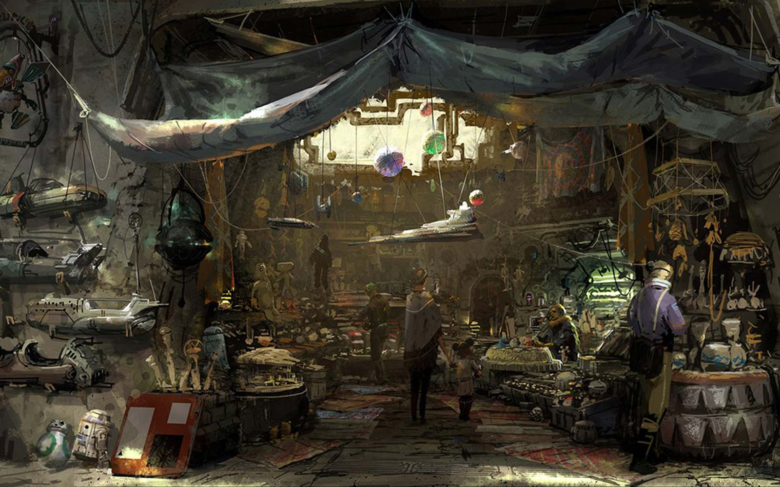 Disney Just Revealed New Images of the Star Wars Park Everyone's Been Waiting For