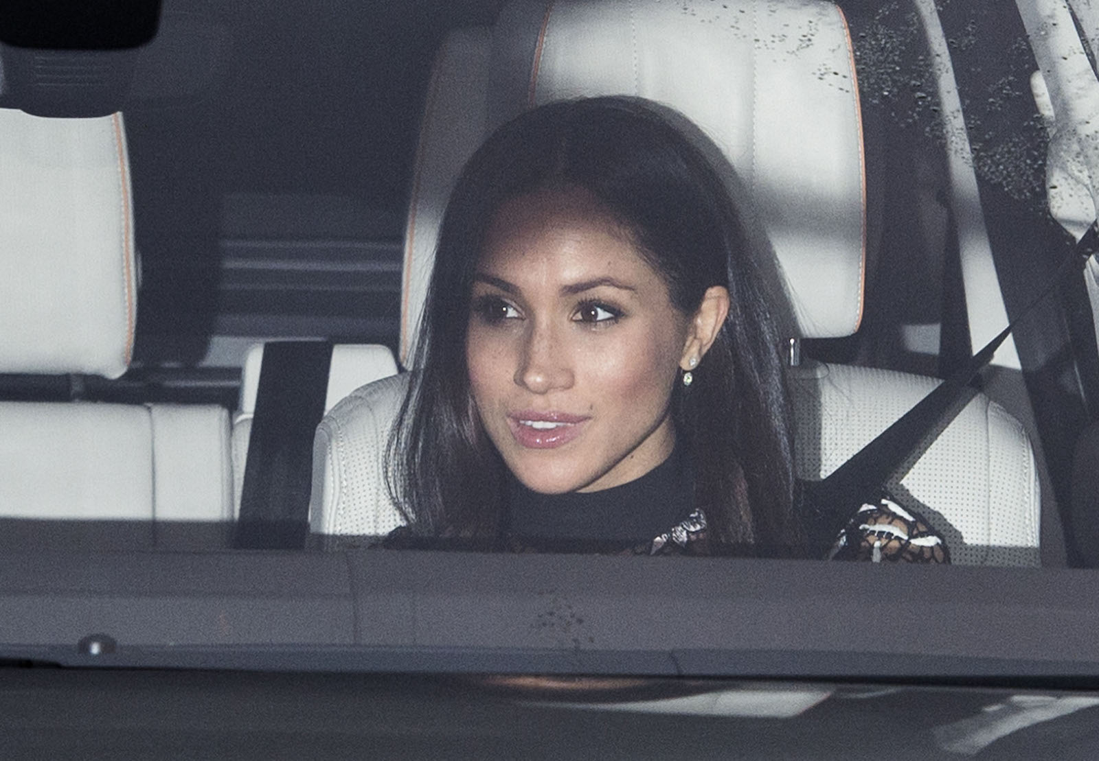 Meghan Markle pre-Christmas Lunch