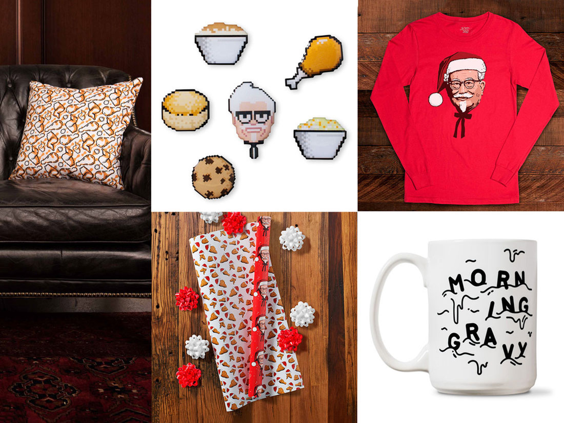 KFC's Collection of Chicken-Themed Christmas Gifts Is Finger-Lickingly Festive