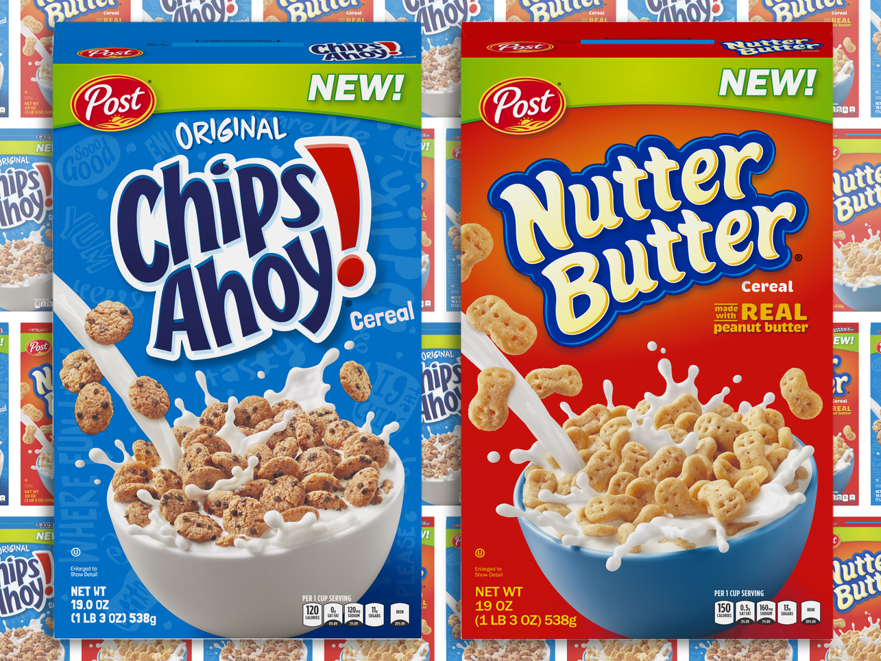 chips ahoy and nutter butter cereal new