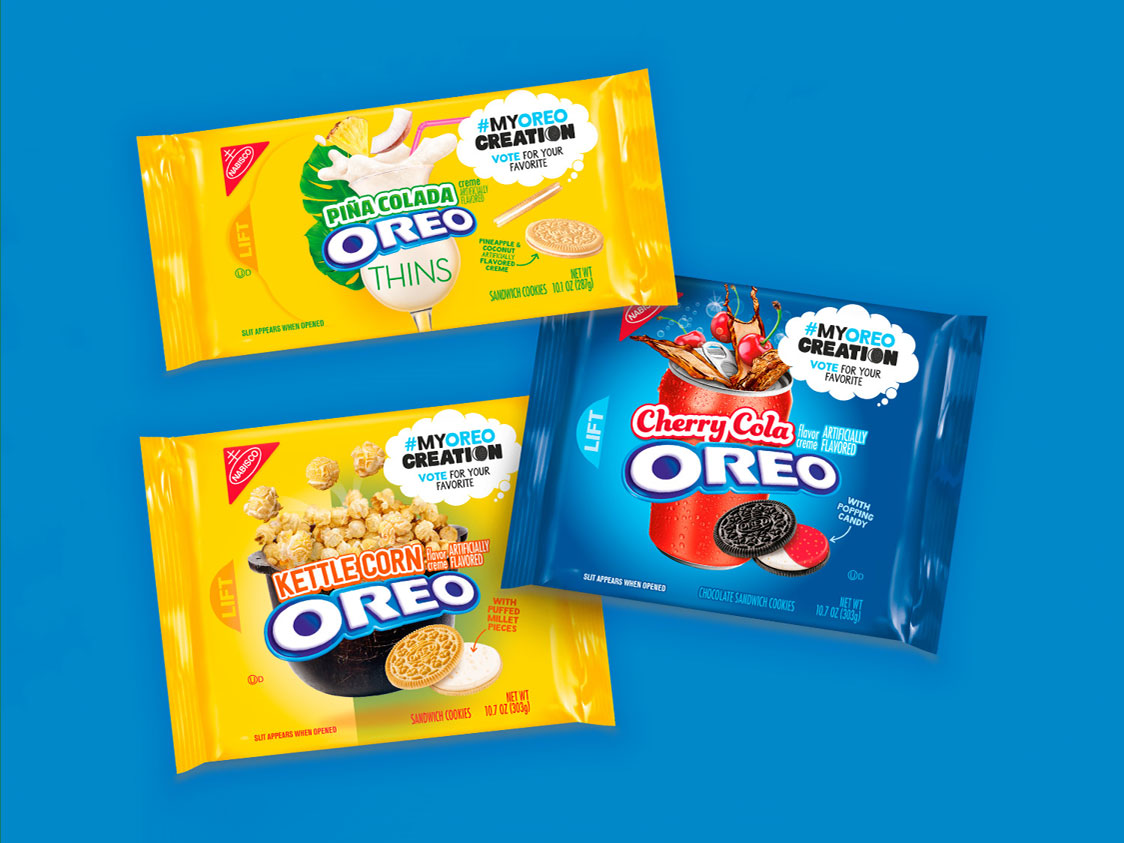 Oreo Just Announced 3 New Fan-Created Flavors