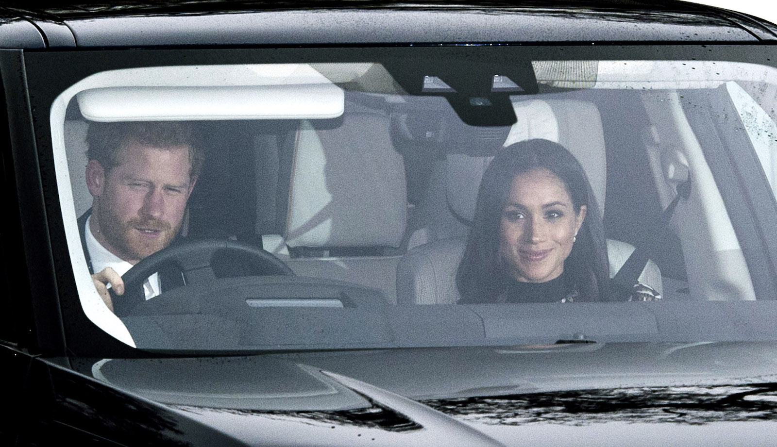Prince Harry Meghan Markle pre-Christmas Lunch
